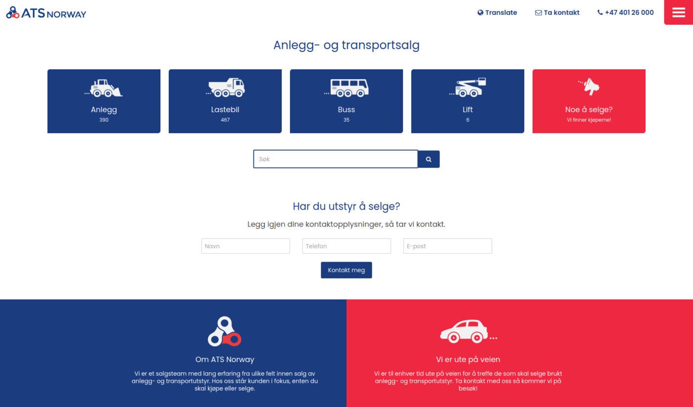 ATS Norway. Ikon- og logodesign av Doghouse