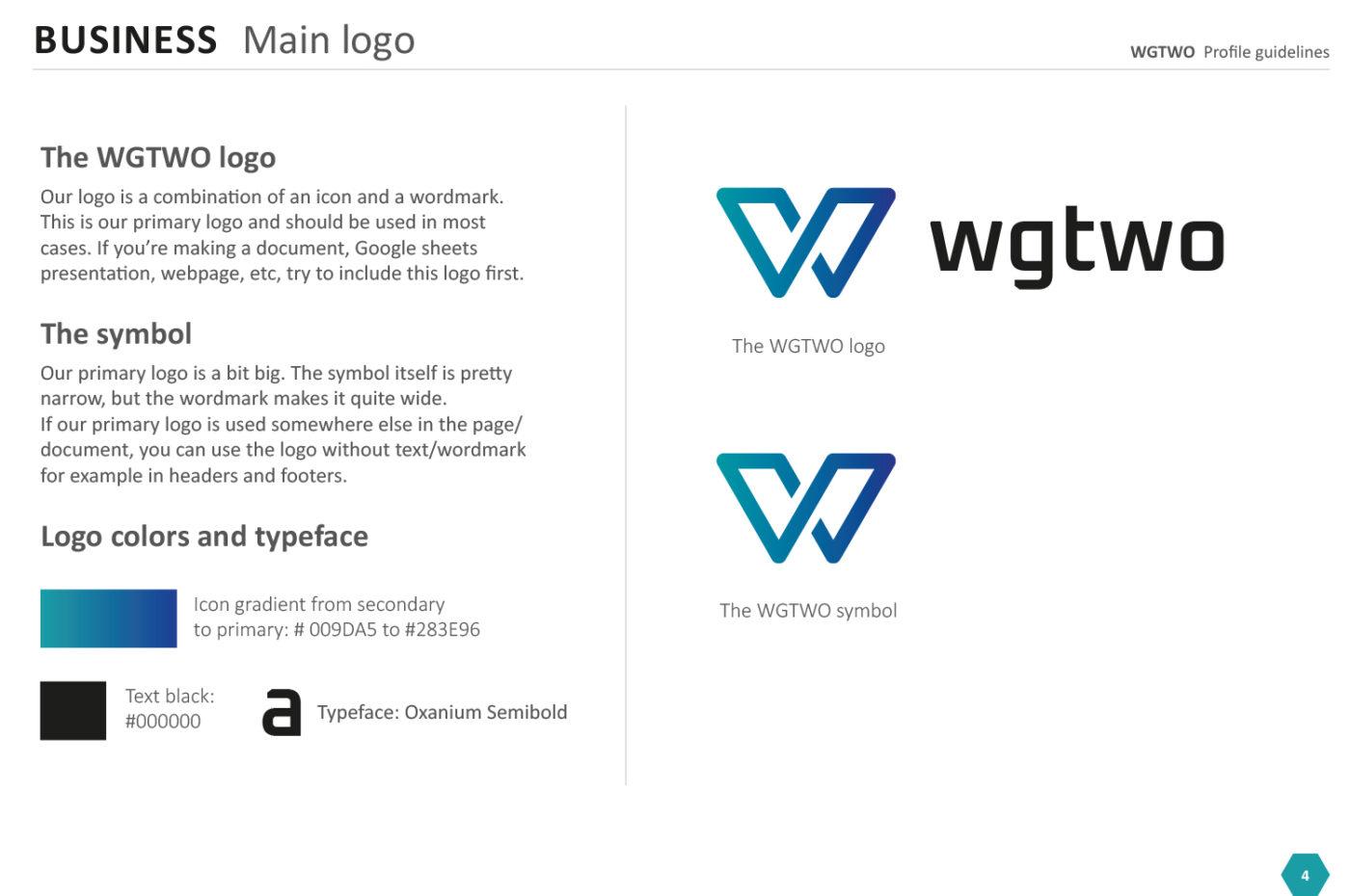 WGTWO, designmanual