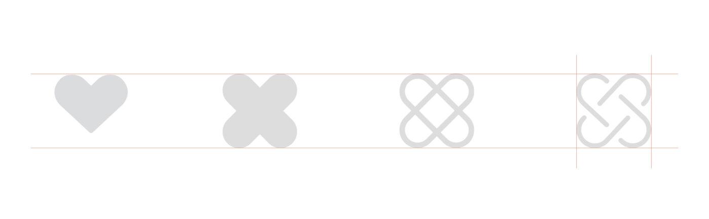 Logodesign for Ambia. Fra hjerte til logosymbol