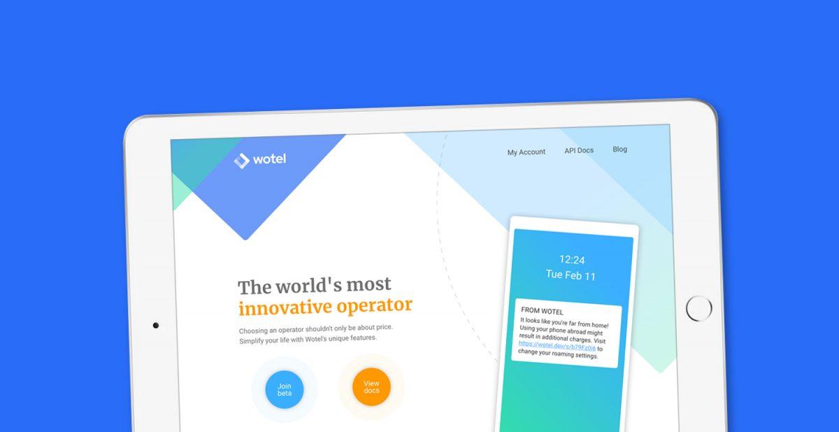 Doghouse: Logodesign, nettside og grafisk profil for Wotel