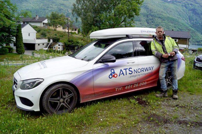 ATS Norway. Bildekor designet av Doghouse
