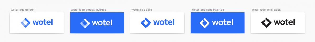 Logovarianter Wotel