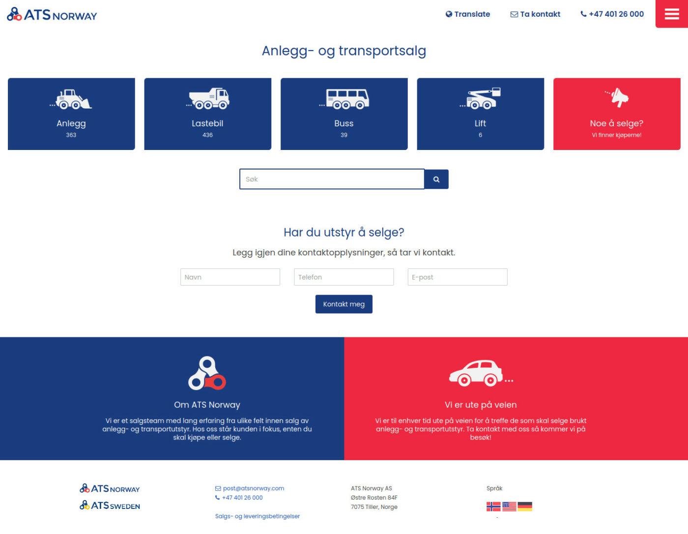 Doghouse: Nettside for ATS