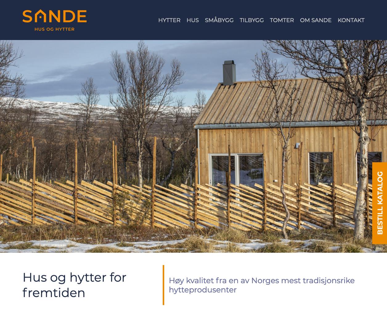Doghouse: Nettside for Sande Hus og Hytter